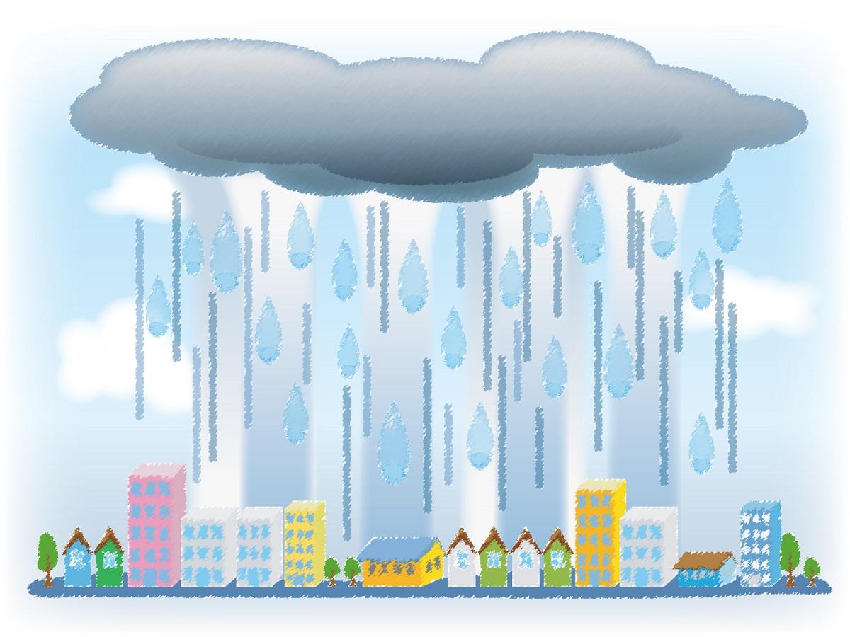 熱中症と突然の雨を避けてヘルニア回復の為にどこを歩くか