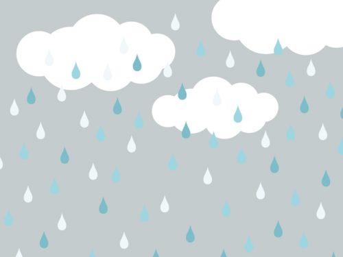 しとしと雨