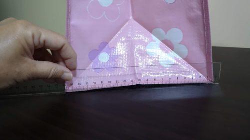 紙袋のマチは20cmあるので十分